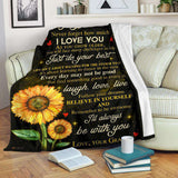 PP - BLANKET - Grandson (Granny) - I'll always be with you - yenyenstore