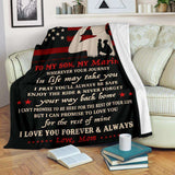 PP - BLANKET - MARINE SON - Wherever your journey in life may take you - yenyenstore
