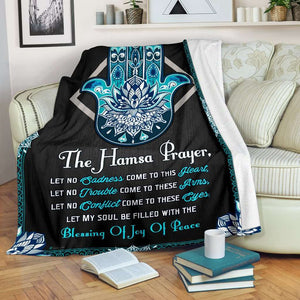 PP - Blanket - Hippie - The Hamsa Prayer - yenyenstore