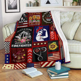 BLANKET - Firefighter Strong - yenyenstore