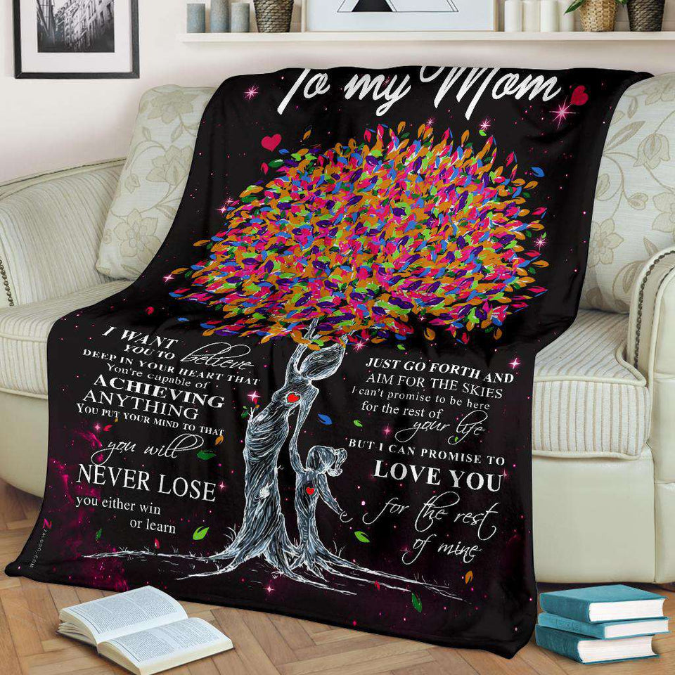 PP - BLANKET - To my Mom - Love you for the rest of mine - yenyenstore