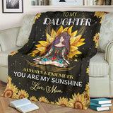 PP - Blanket - Hippie - To My Daughter - yenyenstore