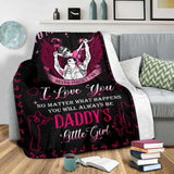 Blanket - To my Daughter - My little girl - yenyenstore
