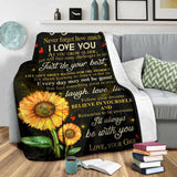 PP - BLANKET - Grandson (Gigi) - I'll always be with you - yenyenstore