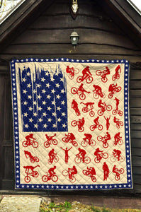 QUILT - Cyclist Flag - yenyenstore
