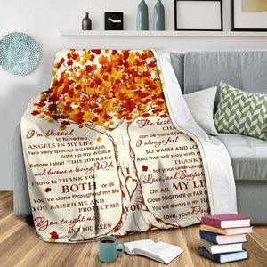 PP - Blanket - To my Dad & Mom - yenyenstore