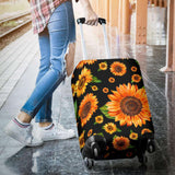 LUGGAGE COVER - Sunflower - yenyenstore