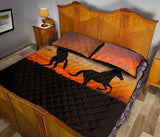 QUILT BED SET Horse - Zalooo.com Custom Wall Art Canvas