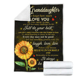 PP - BLANKET - Granddaughter (Nana) - I'll always be with you - yenyenstore