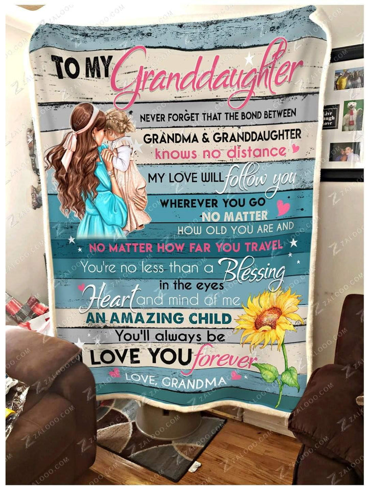 BLANKET - The bond between Grandma and Granddaughter