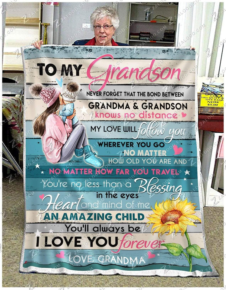 BLANKET The bond between Grandma and Grandson