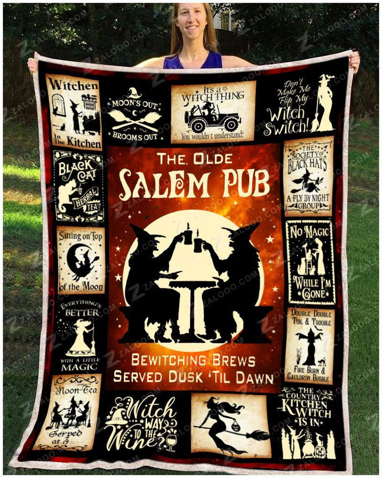 BLANKET - WITCH - The Olde Salem Pub