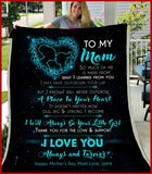 BLANKET - To my mom - I will always be your little girl (Love, Jamie) - yenyenstore