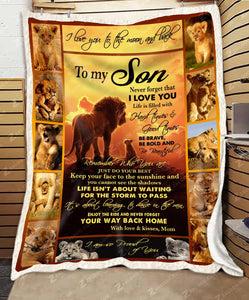 BLANKET - LION - Son (Mom) - Remember who you are