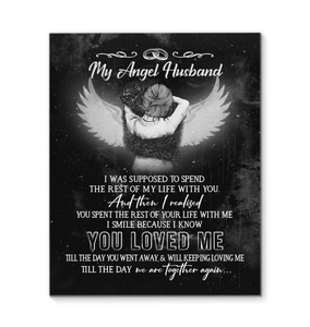 CANVAS - My Angel Husband - yenyenstore