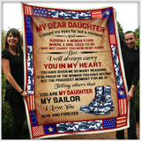 BLANKET - My Daughter My Sailor - I Closed my eyes - yenyenstore