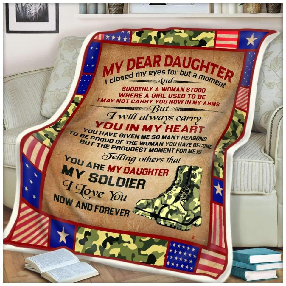 BLANKET - My daughter My soldier - I closed my eyes - yenyenstore