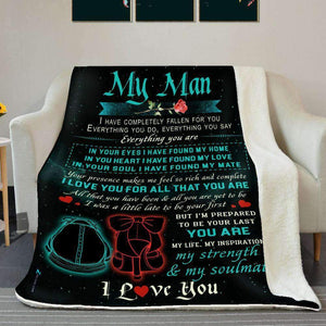 BLANKET - My Man - I have completely fallen for you - yenyenstore