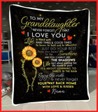 BLANKET - Granddaughter (Nana) - You are my sunshine