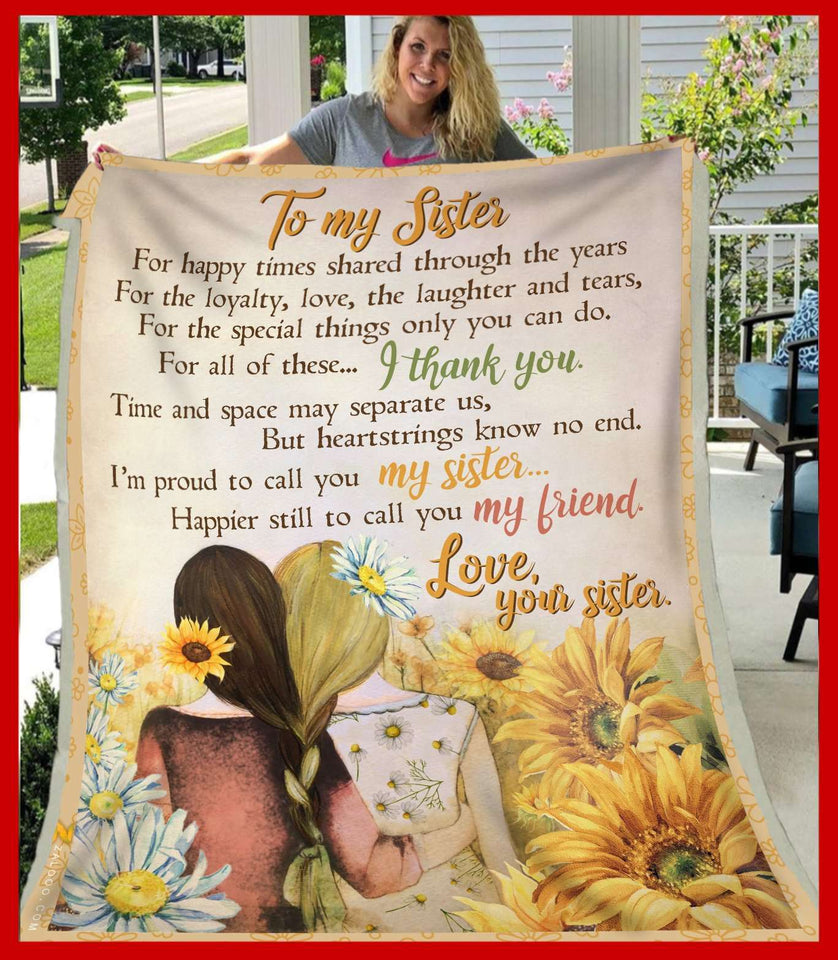 BLANKET - To My Sister - yenyenstore