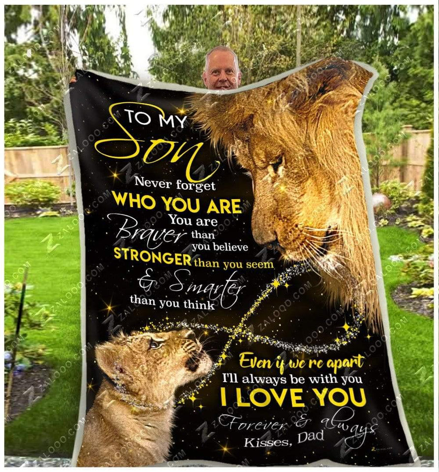 BLANKET - LION - Son (Dad) - Never Forget Who You Are