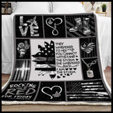 Blanket Air Force They whisper - Zalooo.com Custom Wall Art Canvas