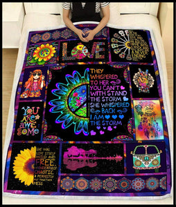 Blanket - Hippie - They whisper to her