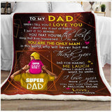 BLANKET - Dad (Daughter) - When I tell you I love you - yenyenstore