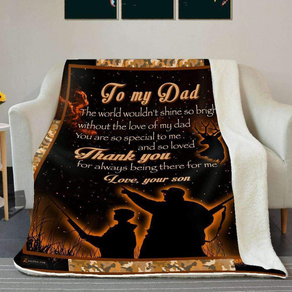 BLANKET - Hunt - To my Dad - Thank you - yenyenstore