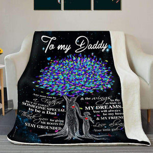 BLANKET - Daddy - It takes someone special to be a Dad - yenyenstore