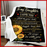 BLANKET - Daughter - I'll always be with you - yenyenstore