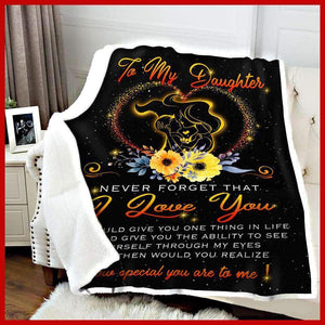 BLANKET - Daughter - How special you are to me - yenyenstore