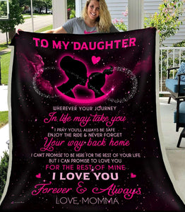 BLANKET - Wherever your journey in life may take you (Momma) - yenyenstore