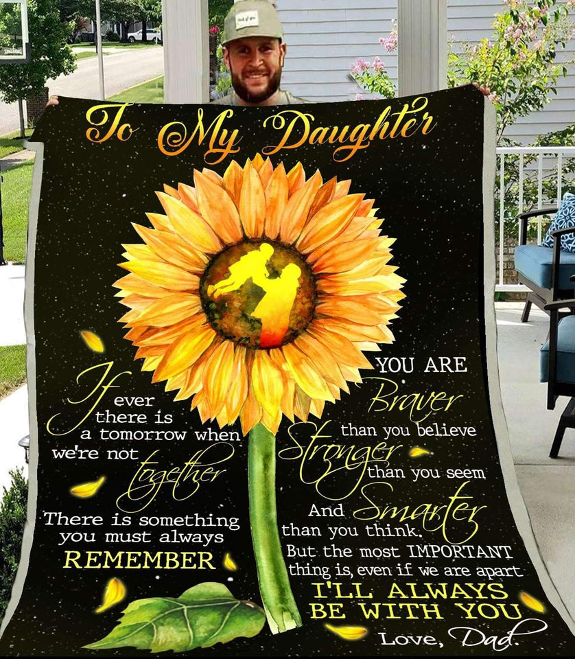 BLANKET - Family - To My Daughter (From Dad) - yenyenstore