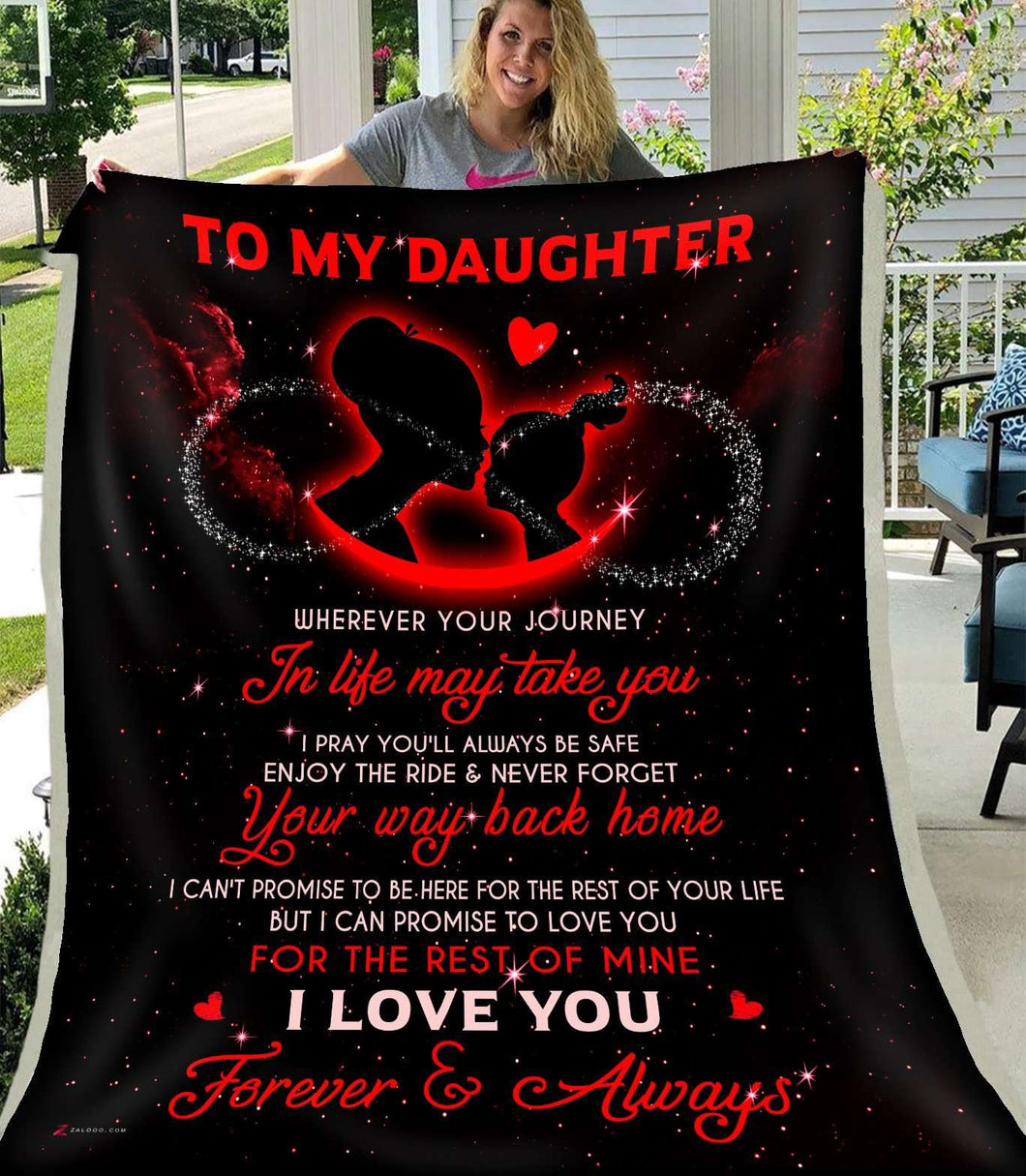 BLANKET - Wherever your journey in life may take you (Red) - yenyenstore