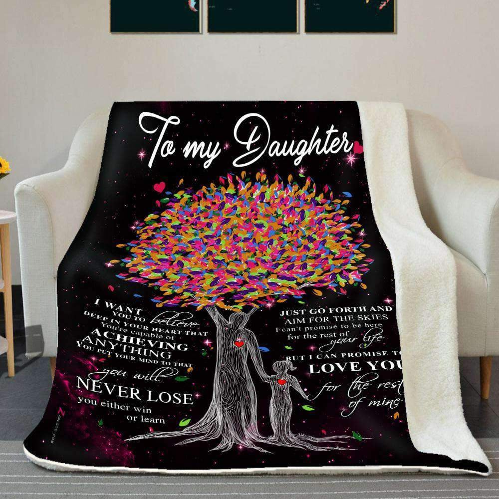 BLANKET - Daughter - Love you for the rest of mine (Dad) - yenyenstore