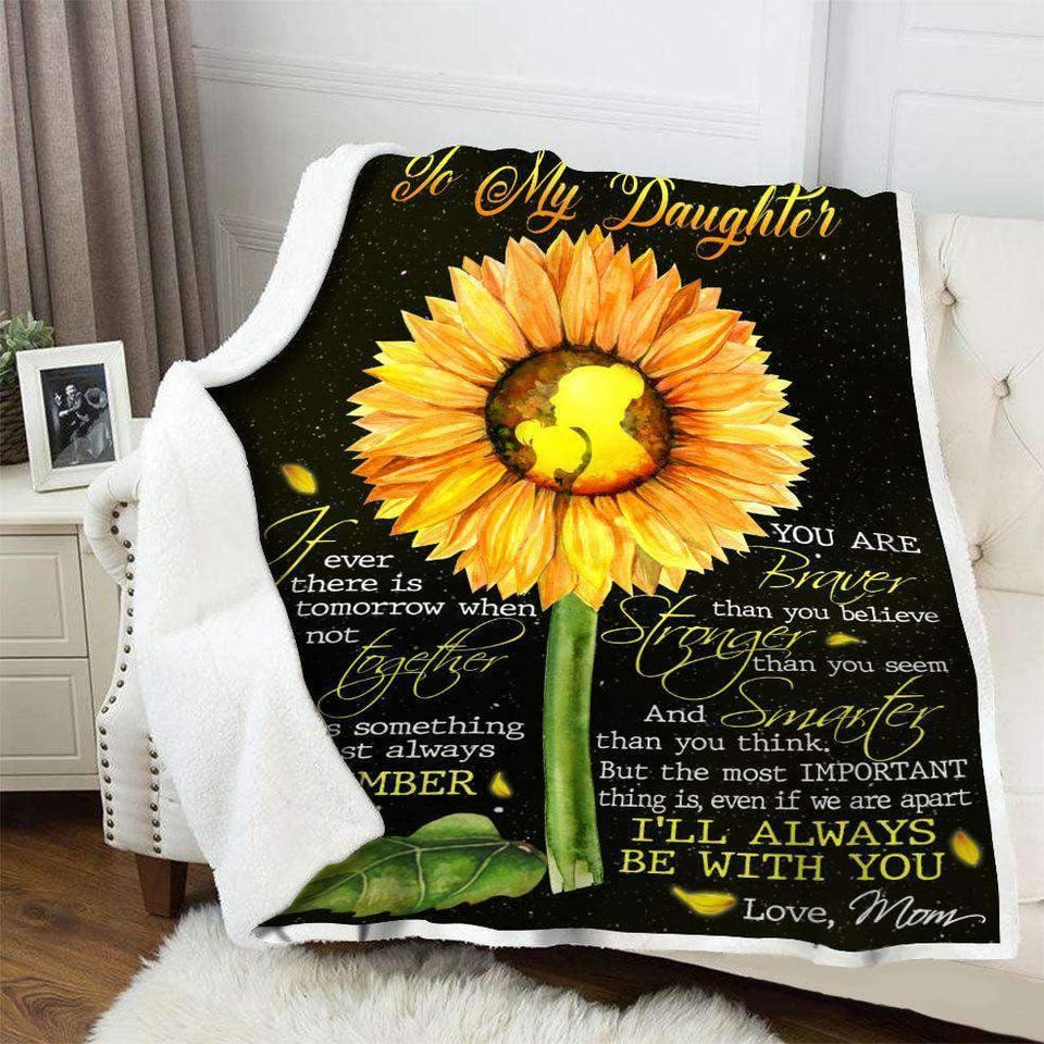 BLANKET - Family - To My Daughter (From Mom) - yenyenstore