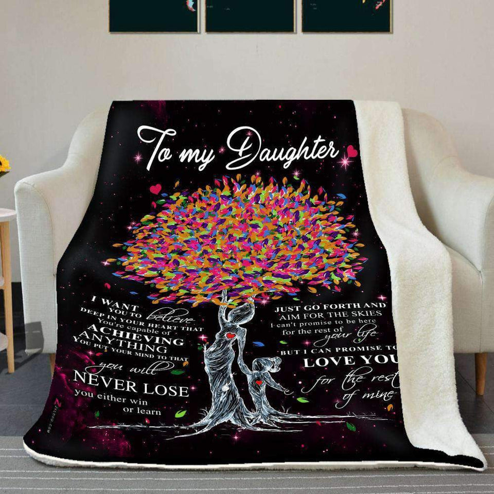 BLANKET - Daughter - Love you for the rest of mine (Mom) - yenyenstore
