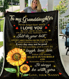 PP - BLANKET - Granddaughter (Nanny) - I'll always be with you - yenyenstore