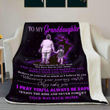 BLANKET - Granddaughter - I believe in you (Grandma) - yenyenstore