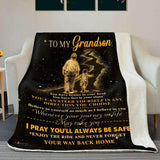 BLANKET - Grandson - Believe in yourself (Grandpa) - yenyenstore