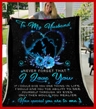 BLANKET - To my Husband - How special you are to me - yenyenstore