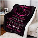 BLANKET - Niece - Wherever your journey in life may take you - yenyenstore
