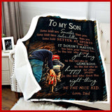 BLANKET - To my Son (Dad) - Be The Nice Kid - yenyenstore
