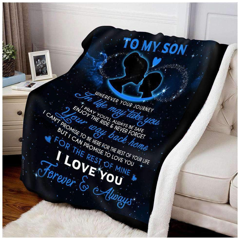 BLANKET - Son - Wherever your journey in life may take you - yenyenstore