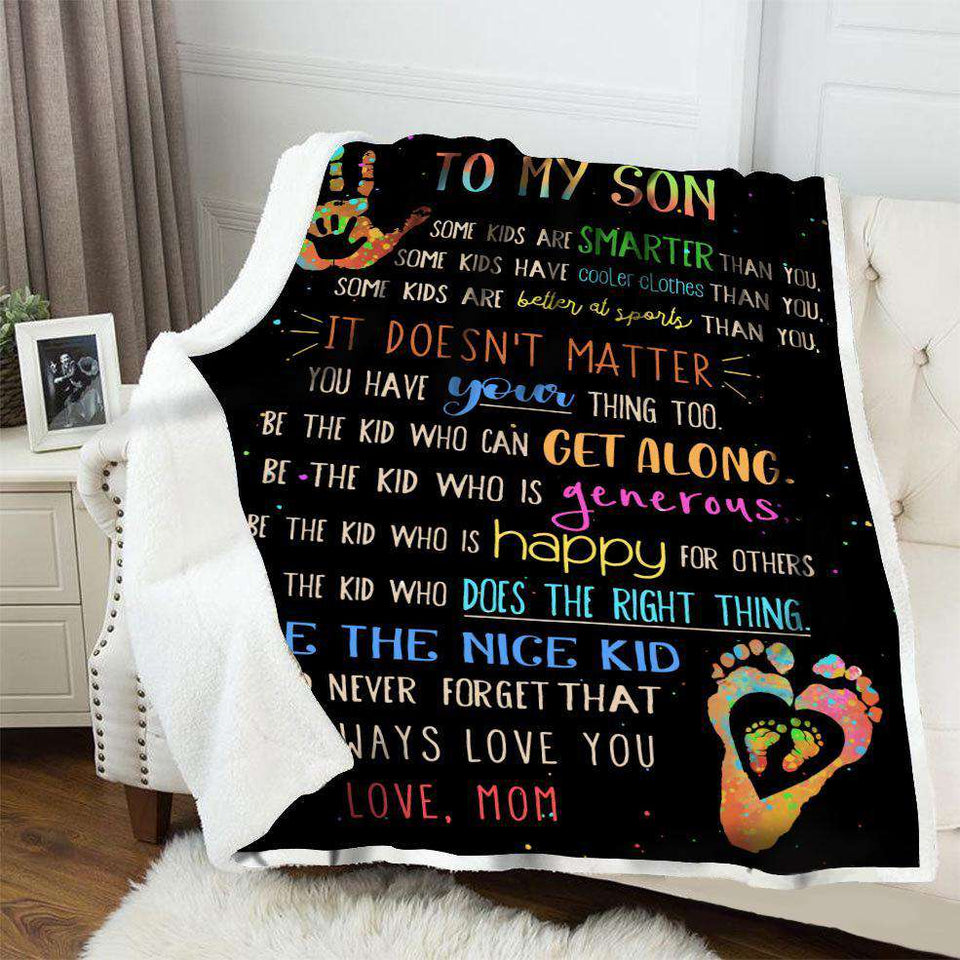BLANKET - To My Son - Be A Nice Kid - yenyenstore