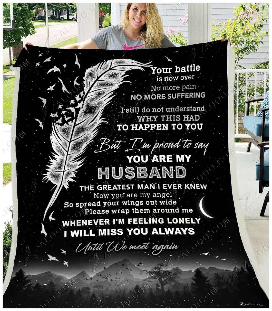 Fleece Blanket - You are my Husband - yenyenstore