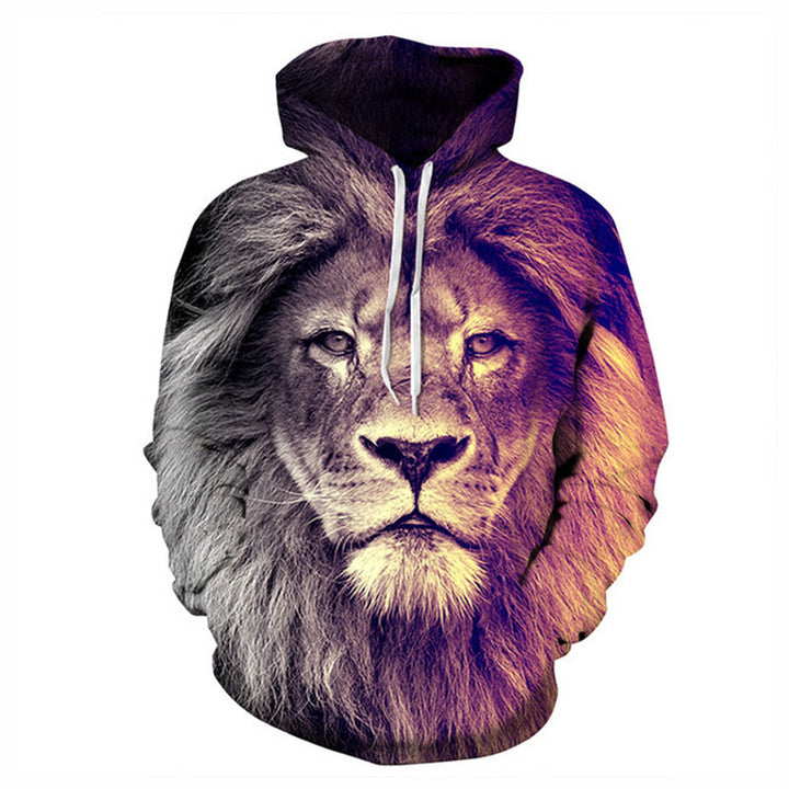Lion head series sweater