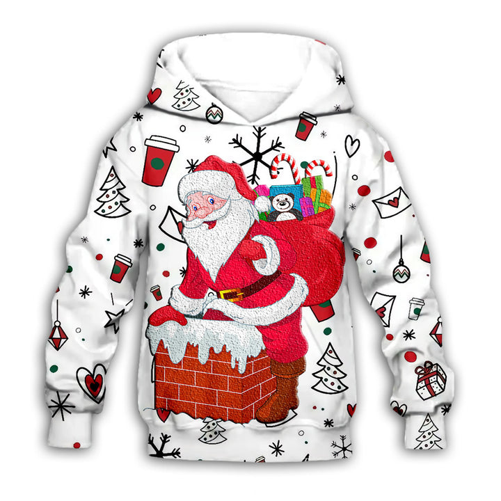 White Series Christmas Sweater