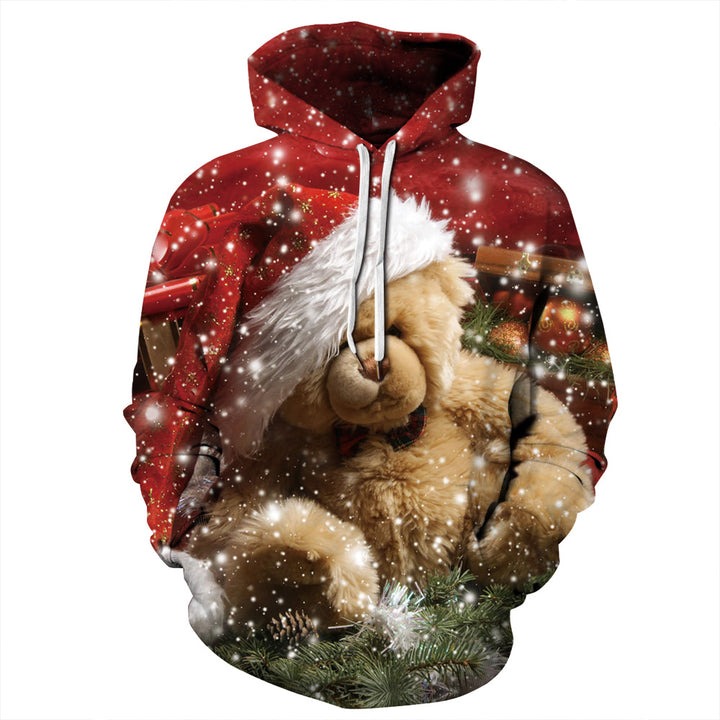 3D Digital Bear Sweatshirt
